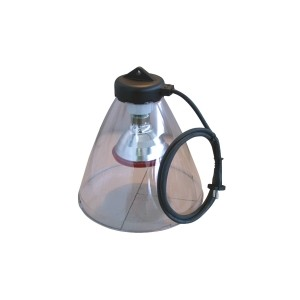 Protecteur de lampe LEXAN