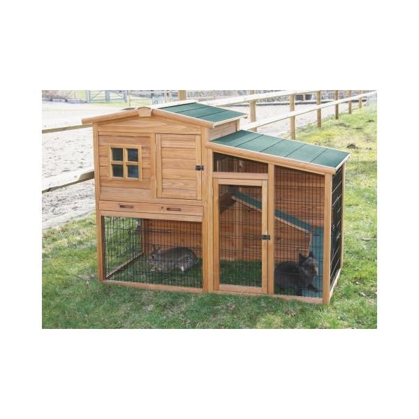 abri pour petits animaux fortuna. Black Bedroom Furniture Sets. Home Design Ideas