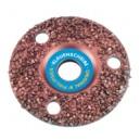 Super disque de parage incrustation dense